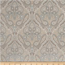 Jaclyn Smith Paisley Tapestry Jacquard Robin's Egg Fabric
