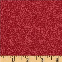 Small Ditzy Floral Red