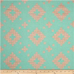 Cotton & Steel Mesa Canvas Tile Teal