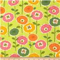 Gramercy Bright Floral Green