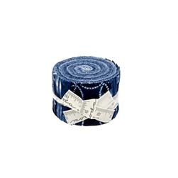 "Moda Shibori 2.5"" Junior Jelly Roll"