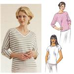 Kwik Sew Knit Top w/Dolman Sleeves Pattern