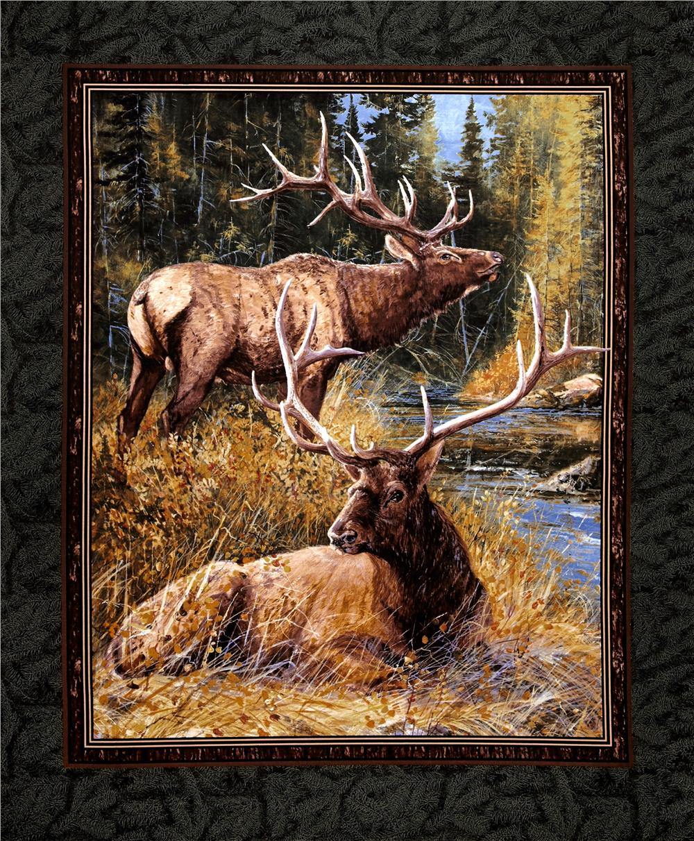 Wild Wings Lazy Afternoon Wall Hanging 36'' Panel Multi Fabric