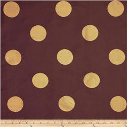 World Wide Aldo Large Dot Jacquard Wine