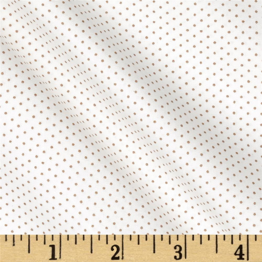 Kaufman Sevenberry Petite Basics Mini Dot Linen