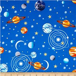 Starlight Metallic Planets Blue