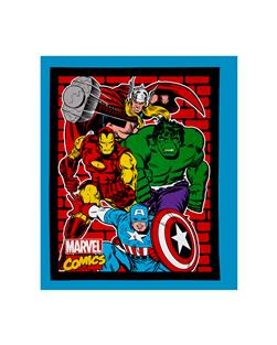 Marvel Retro Comics Avengers Panel Multi