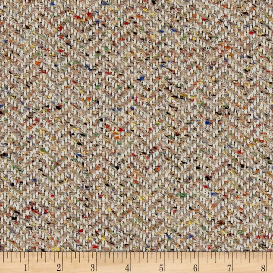 Clarence House Maxwell Tweed Multi