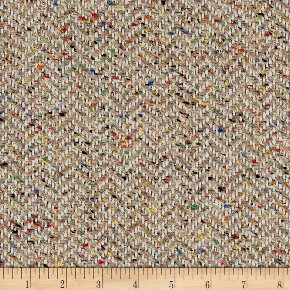 Clarence House Maxwell Tweed Multi Fabric