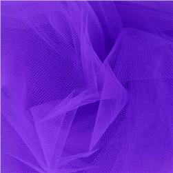 54'' Wide Tulle Deep Purple Fabric