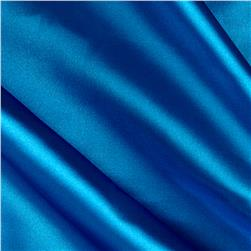 Stretch Charmeuse Satin Turquoise