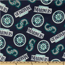MLB Fleece Seattle Mariners Toss Teal/Blue