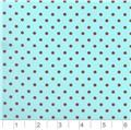 Pimatex Cotton  Dots Aqua & Brown