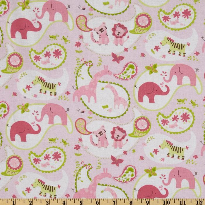Animal Parade Animal Paisley Pink