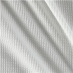 Thermal Knit Linen White