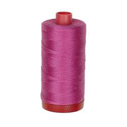 Aurifil 12wt Embellishment and Sashiko Dreams Thread Light Magenta