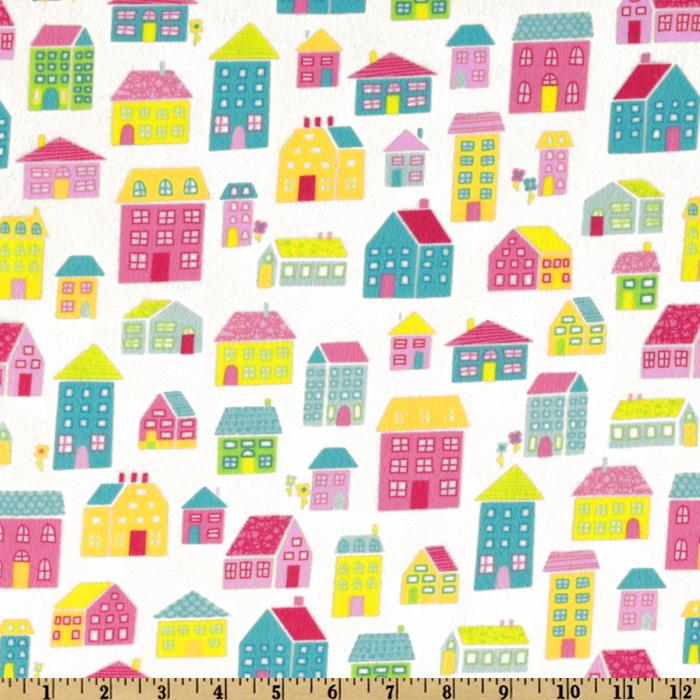 Irving Street Flannel Neighborhood Pink