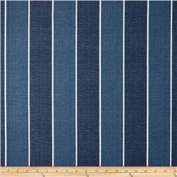 Richloom Solar Outdoor Wickenburg Stripe Indigo