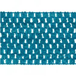 "2 3/4"" Crochet Headband Trim Light Blue"