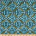 Feathers & Flourishes Flourish Tile Turquoise