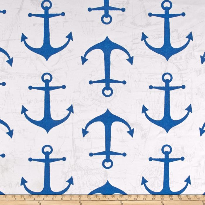 Premier Prints Indoor/Outdoor Anchors Cobalt