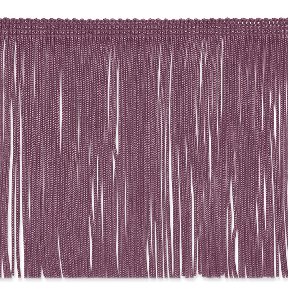 "6"" Chainette Fringe Trim Plum"