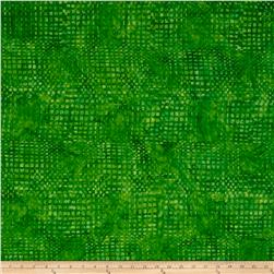 Timeless Treasures Tonga Batik Jelly Bean Loom Grass