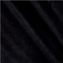 Flannel Cotton Solids Black