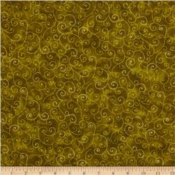 Moda Marble Swirls (9908-92) Avocado Fabric