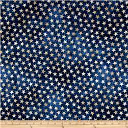 Stars & Stripes Flannel Stars Navy