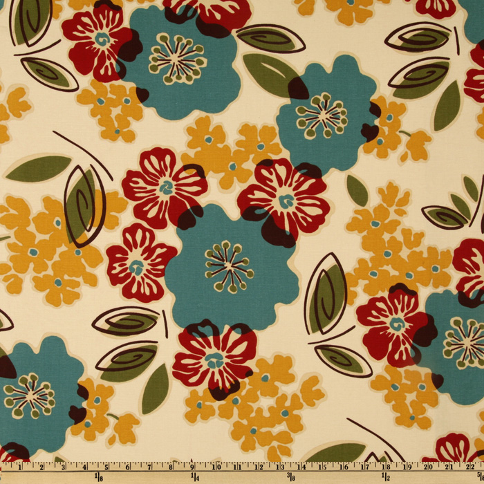 Magnolia Home Fashions Sidney Tropic Fabric
