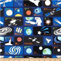 Outer Space Glow In The Dark Patches Blue