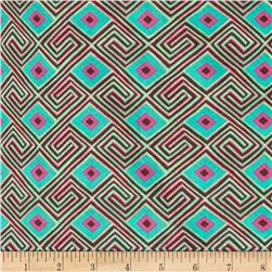 Amy Butler Glow Voile Maze Seaglass Fabric