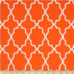Michael Miller Coco Cabana Moroccan Lattice Orange Fabric