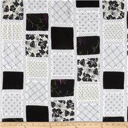 Vintage Cuts Patchwork Black/White