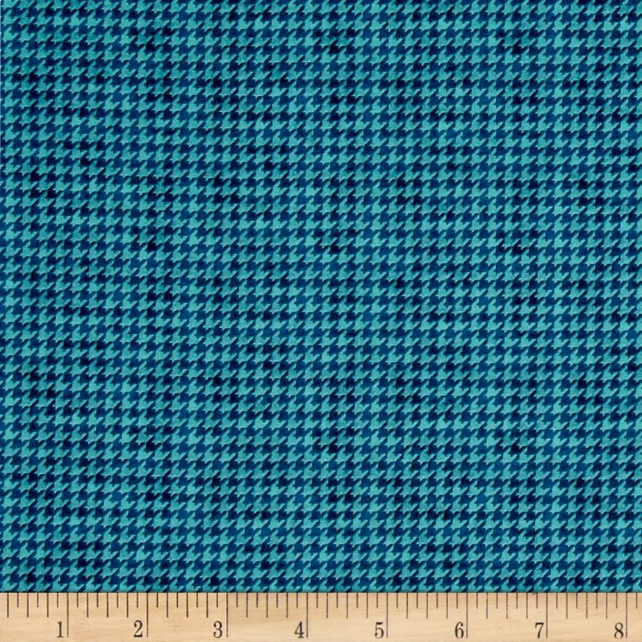 McAnderson's Farm Houndstooth Light Teal