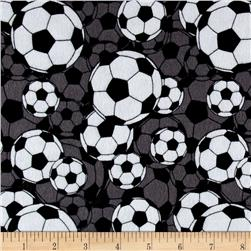 Flannel Soccer Balls Grey