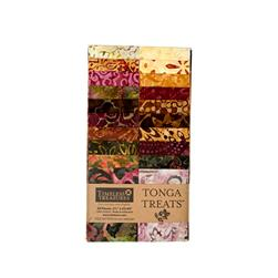 "Timeless Treasures Tonga Batik Vineyard 2.5"" Strip Packs"