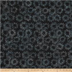 Island Batik Fire Island Sunflower Black/Grey