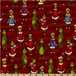How The Grinch Stole Christmas Flannel Happy Grinch