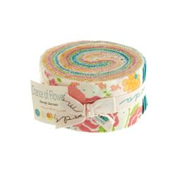 Moda Chance of Flowers  2 1/2'' Jelly Roll Assortment