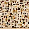 Kaufman Vineyard Collection Collage Natural