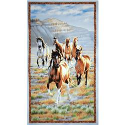 Unbridled Large Panel Multi Fabric