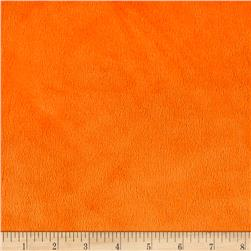 Michael Miller Minky Solid Orange