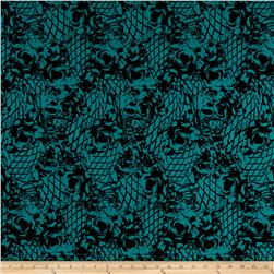 ITY Bohemian Printed Rose Teal