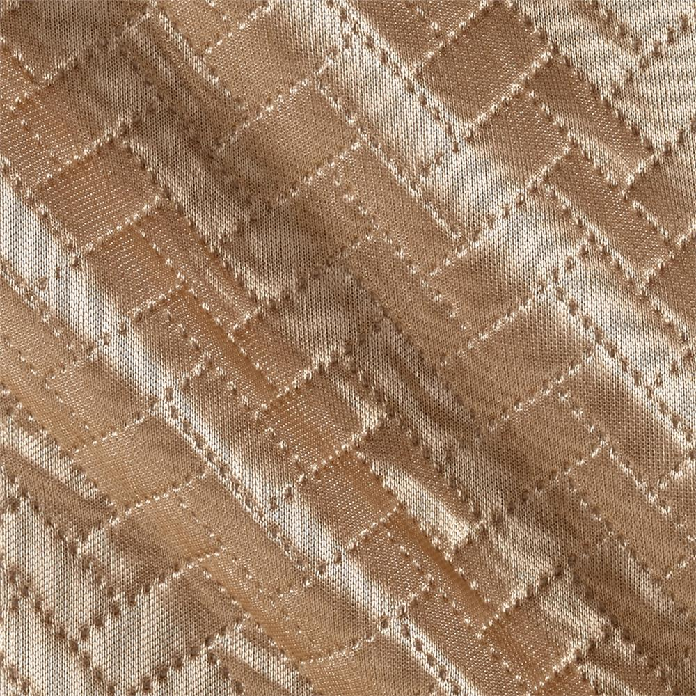 Double Knit Chevron Beige