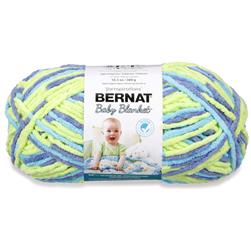 Bernat Baby Blanket Big Ball Yarn (04322) Handsome Guy