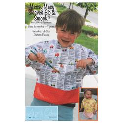 April Cobb Messy Macy Sleeved Bib & Smock