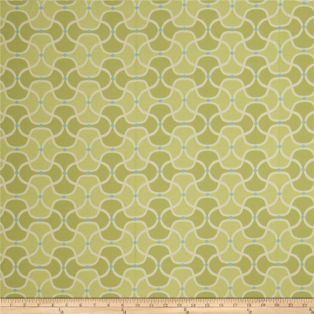 Fabricut Bella Dura Pran Lime Splash