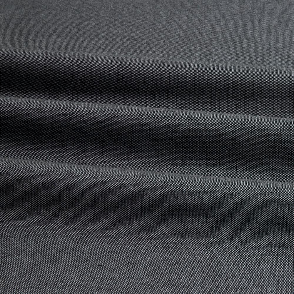 Peppered Cotton Charcoal - Discount Designer Fabric ...